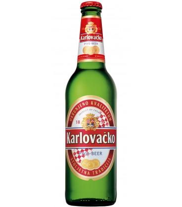 Karlovacko beer 0.33 x 24