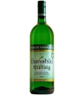 Banatski Rizling white wine 1Lx6