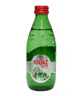 Knjaz Milos mineral water 250 ml x 24 glass