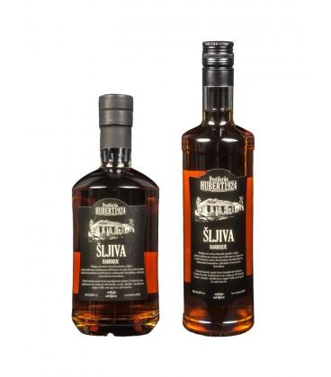 Hubert 1942 Plum brandy 700ml Barrique
