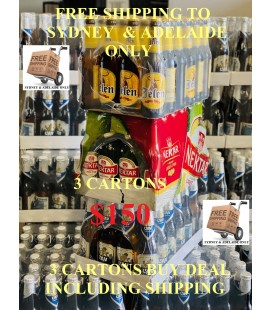 Jelen beer,Lav beer and Nektar beer 330mlx24 make a choice 3 cartons buy deal