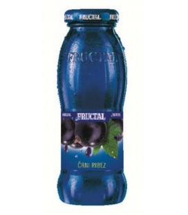Fructal Blackcurrant juice 200mlx12