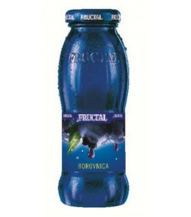 Fructal Blueberry 200mlx12 Glass bottle