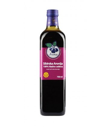 Aronia 100 cold pressed juice 750ml