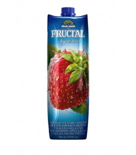 Fructal Nectar Strawberry 1 L x 12