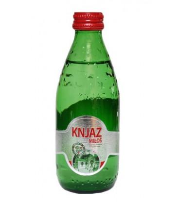 Knjaz Milos mineral water 250 ml x 24 glass