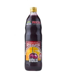 Fructal Sour Cherry syrup 1 L x 6