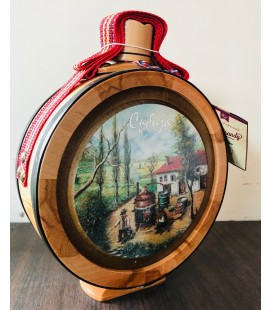 Vocar Kopaonik Sljivovica 750ml WOODEN FLASK