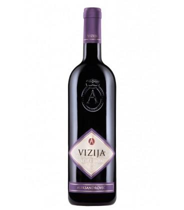 Vinarija Aleksandrovic Vizija red wine 750ml