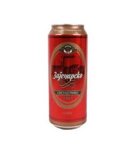 Zajecarsko beer 500mlx24 CAN