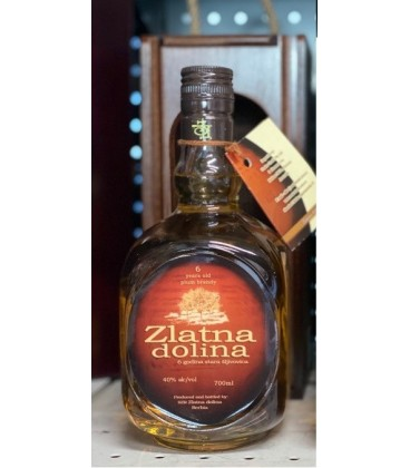 Zlatna Dolina Plum brandy and Quince brandy 700ml