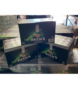 BECKS beer 330mlx24 x 3 cartons