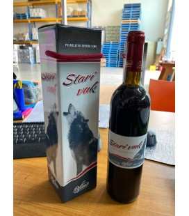 Stari Vuk half sweet red wine 750ml