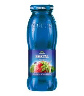 Fructal Strawberry 200mlx12 Glass bottle