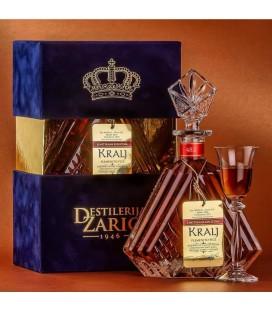 Distillery Zaric Kralj Plum brandy Cognac 700ml