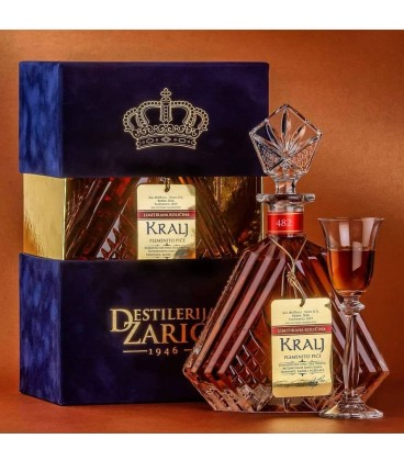 Distillery Zaric Kralj Plum cognac 700ml