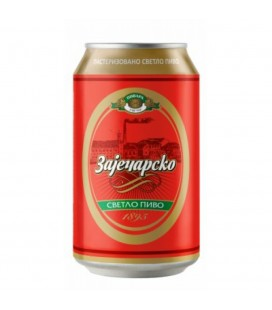 Zajecarsko beer 330mlx24 CAN