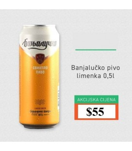Nektar Banjalucko beer 500mlx24