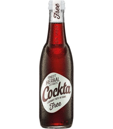 Cockta ZERO 275ml x 24 glass NEW